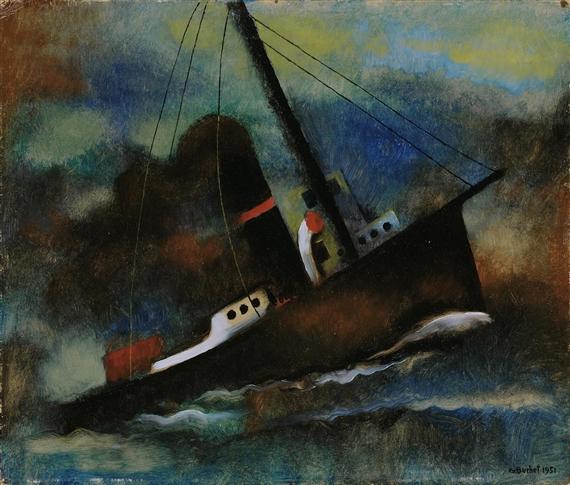 Marine, 1951 - Gustave Buchet