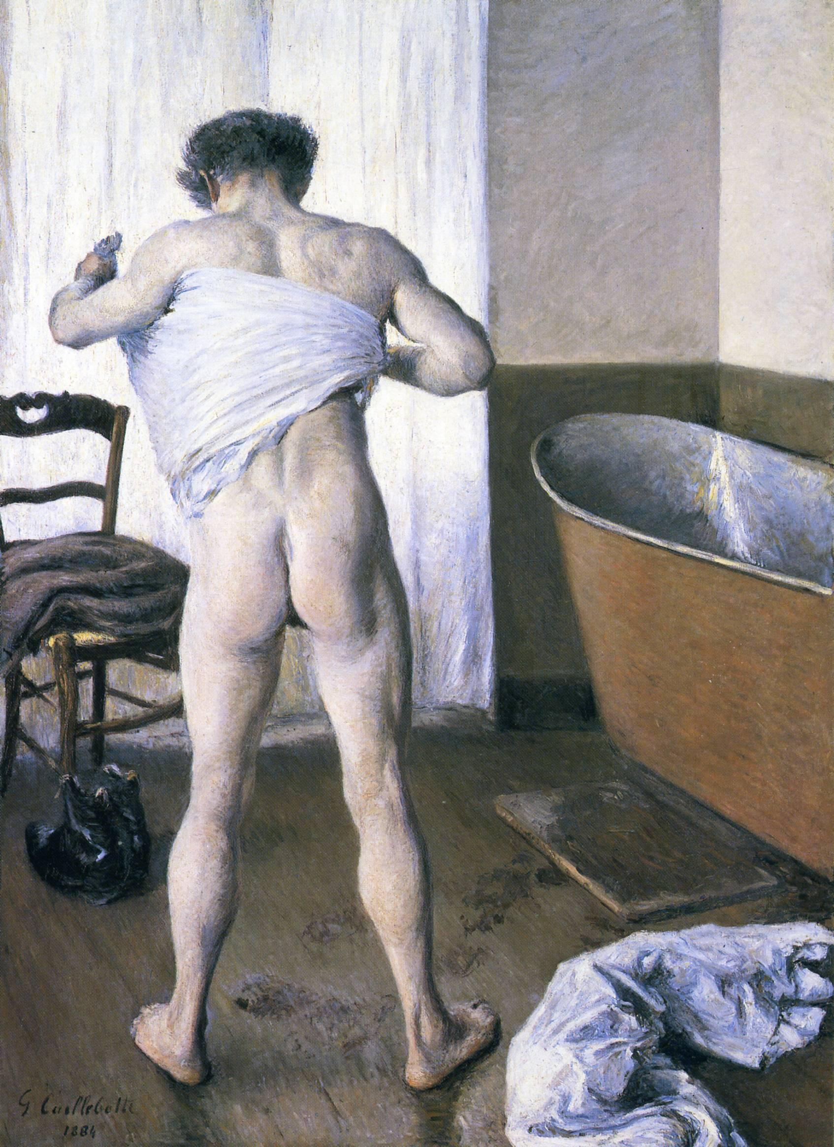 Man at His Bath, 1884