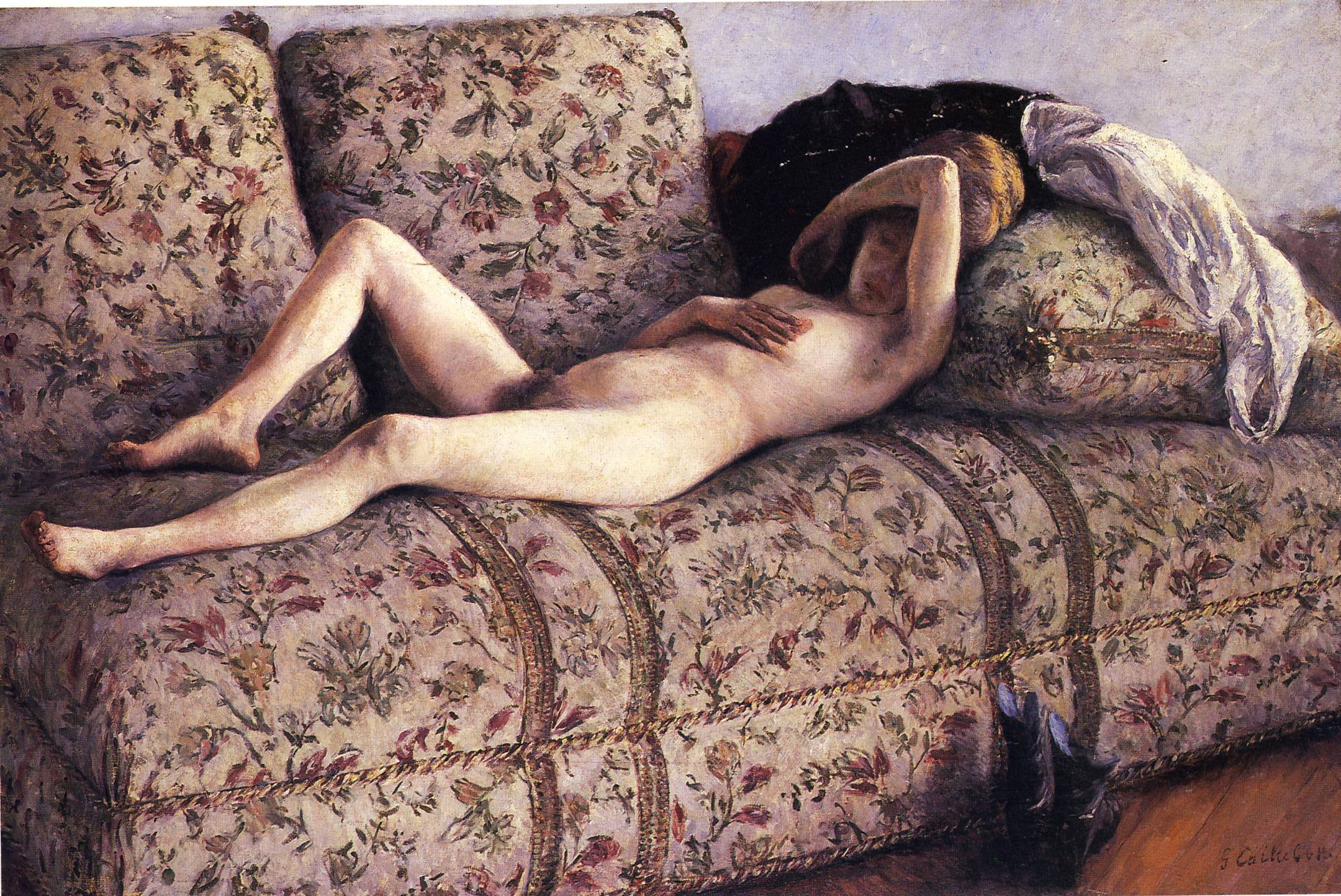 Nude on a Couch, 1890