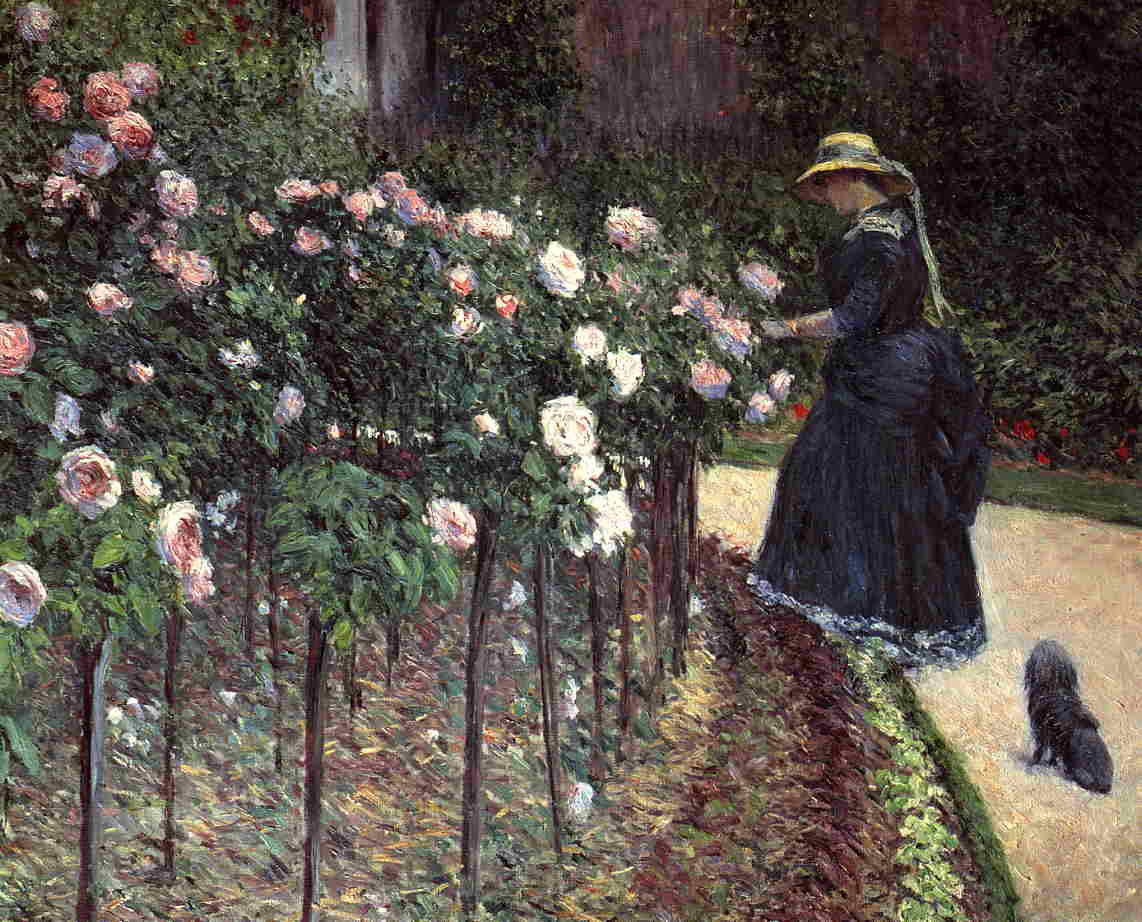 Roses in the Garden at Petit Gennevilliers, 1886