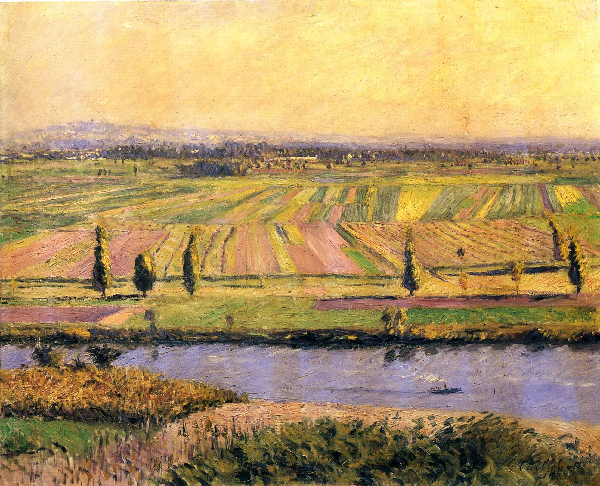 The Plain of Gennevilliers from the Hills of Argenteuil, 1888