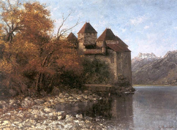 Chateau de Chillon - Gustave Courbet