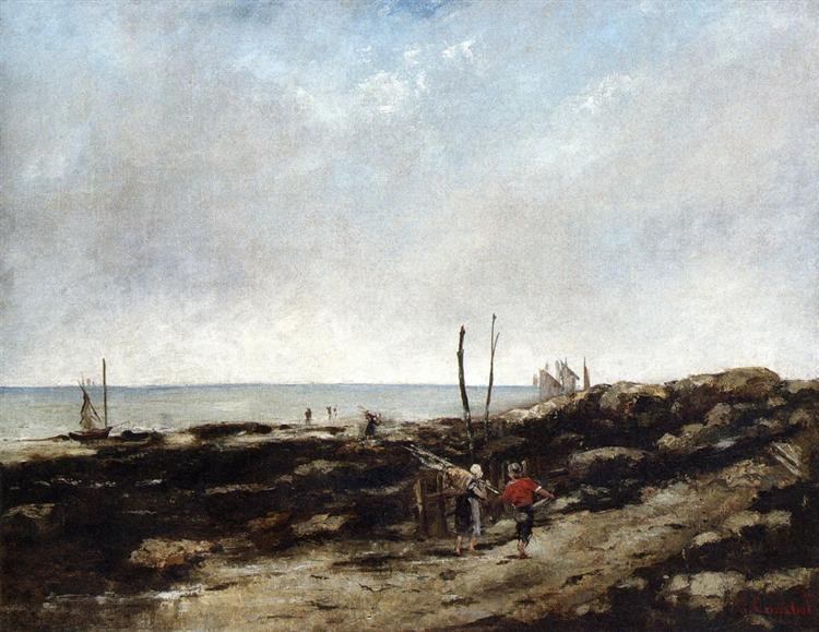 Going Fishing, 1865 - Gustave Courbet