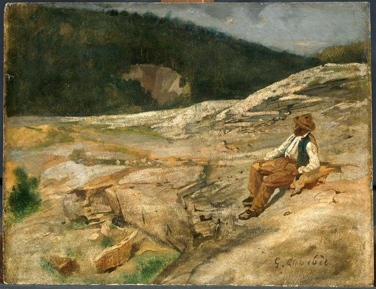 Landscape - Gustave Courbet