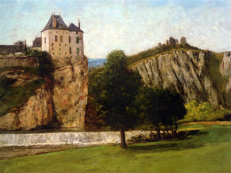 Le Chateau de Thoraise, 1865 - Gustave Courbet