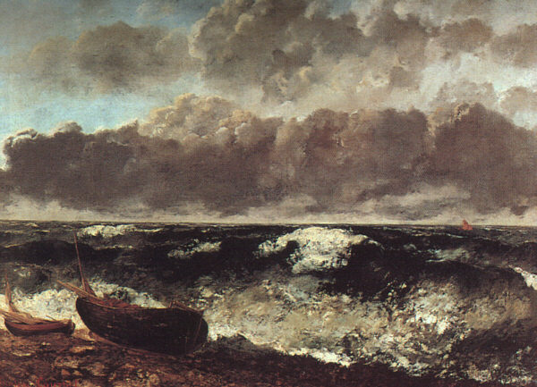 The Stormy Sea (The Wave), 1870 - Gustave Courbet
