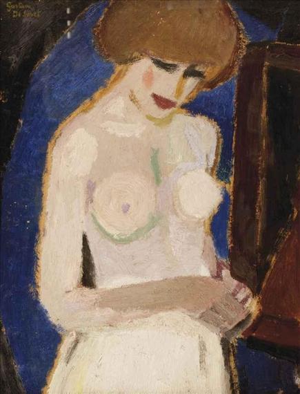 Torse de femme, 1916 - Gustave de Smet