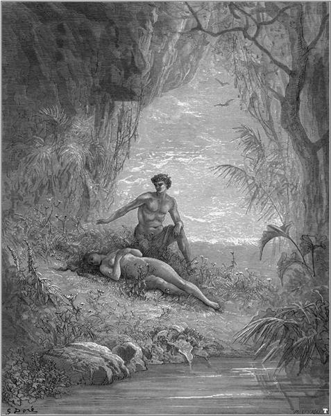 Adam and Eve, 1868 - Gustave Dore