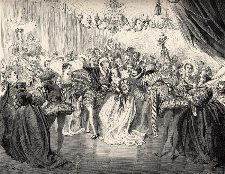 Cinderella - Gustave Dore