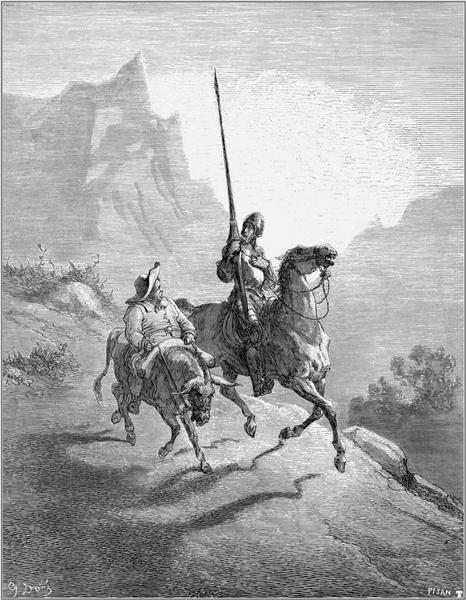 Don Quixote and Sancho Setting Out, 1863 - Gustave Dore
