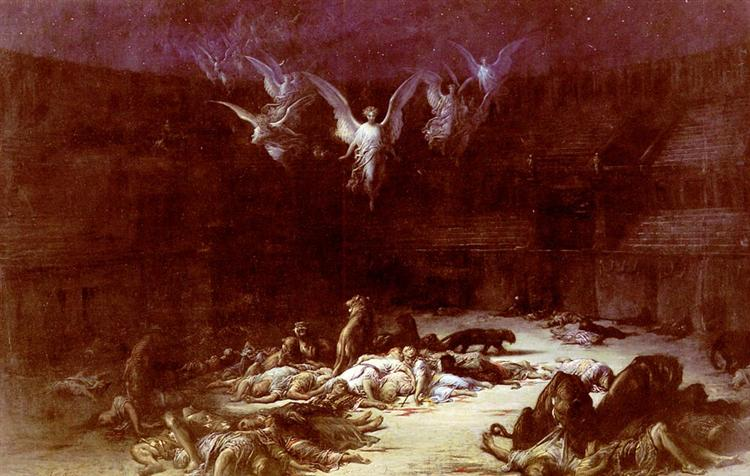 The Christian Martyrs, 1871 - Gustave Dore