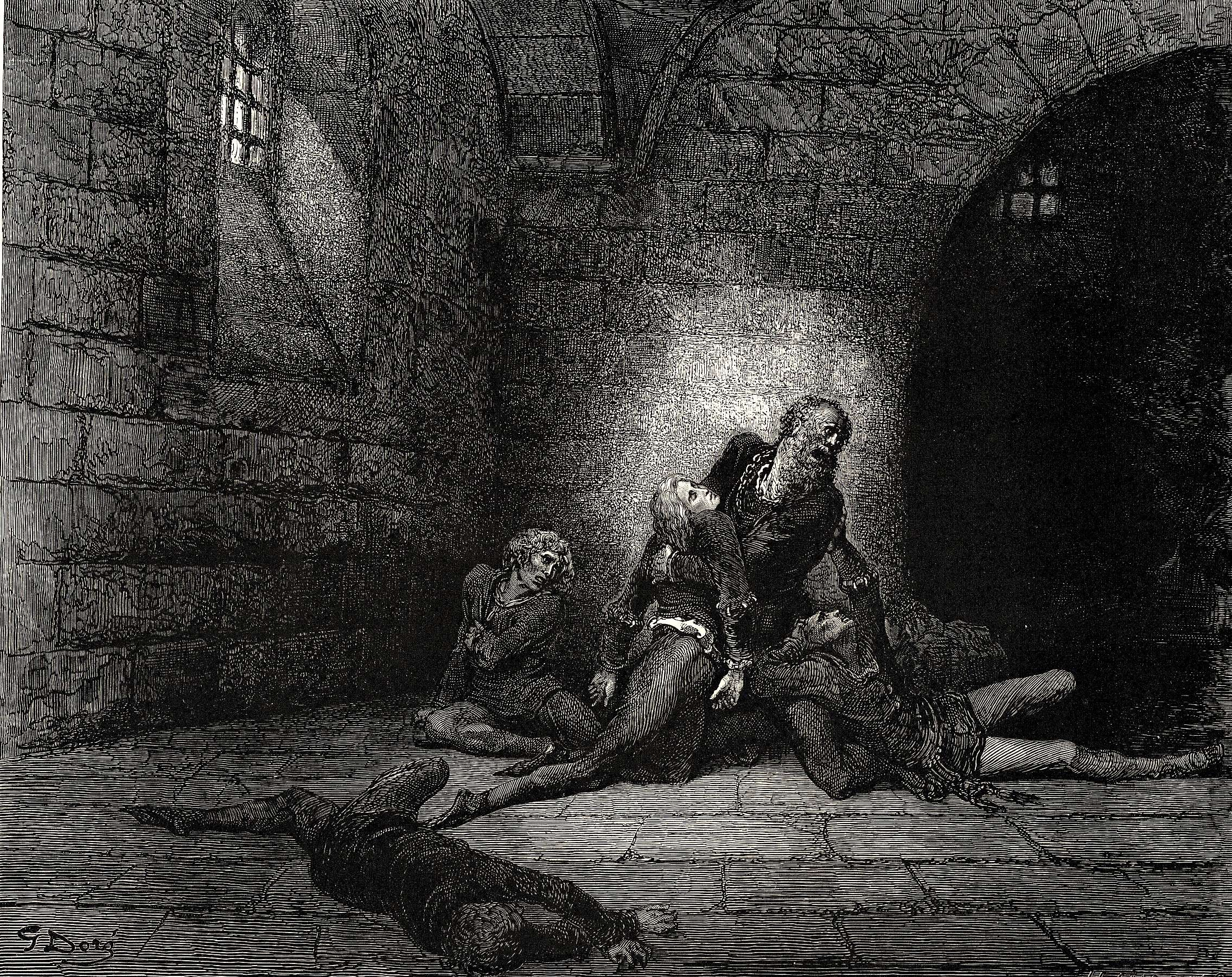 the inferno canto 33 gustave dore wikiartorg
