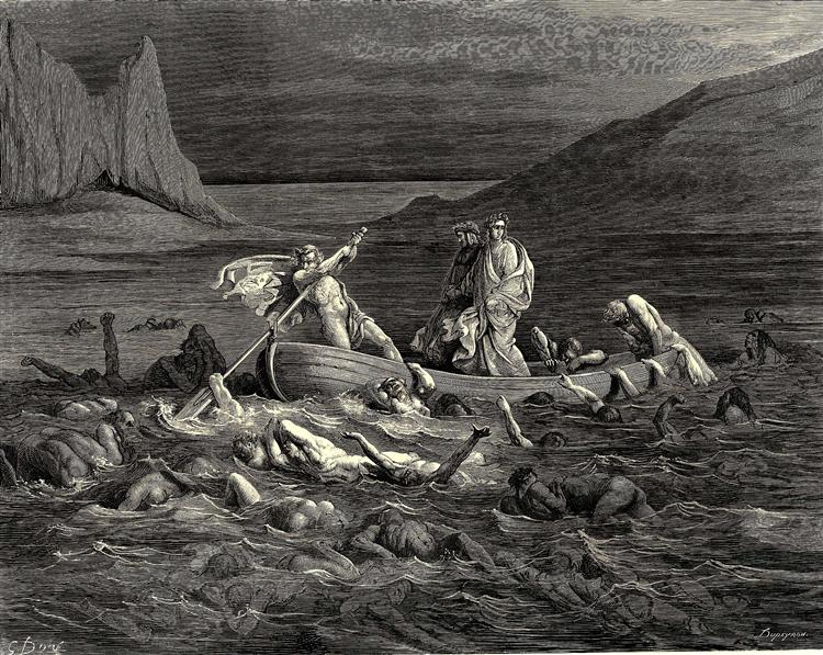 The Inferno, Canto 8 - Gustave Dore