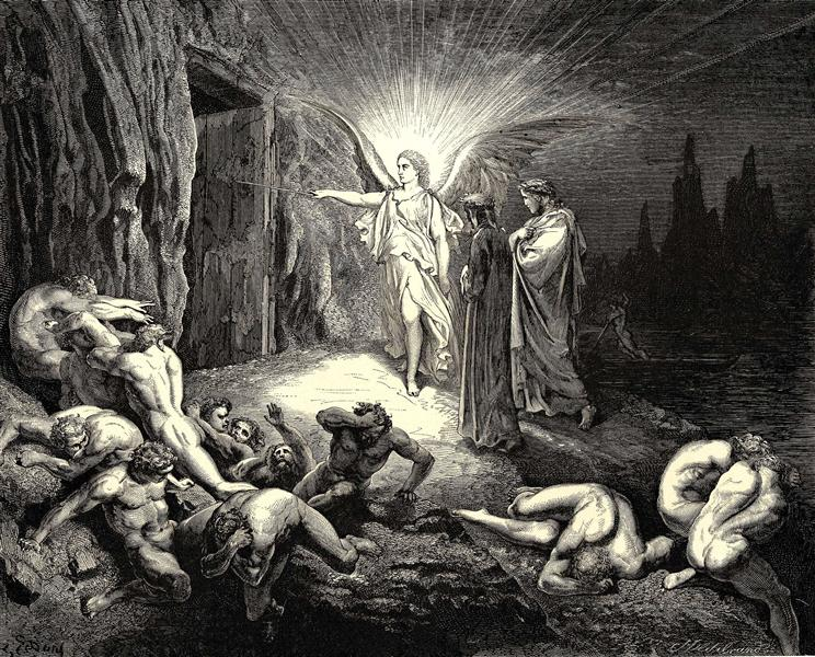 The Inferno, Canto 9 - Gustave Dore