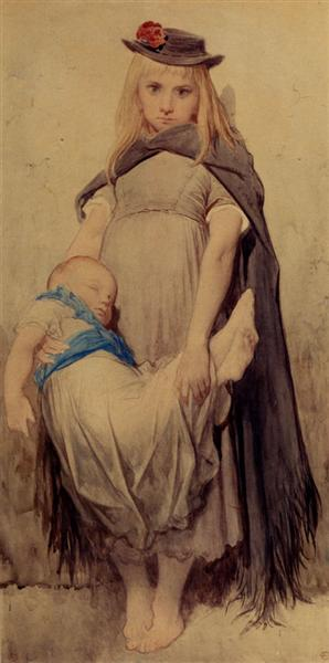 Young Beggar - Gustave Dore