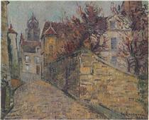 House of the Sisters in Pontoise - Gustave Loiseau