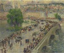 Port Corneille at Rouen - Gustave Loiseau