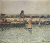 Port of Dieppe - Gustave Loiseau