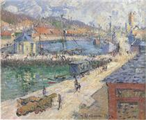 Port of Fecamp - Gustave Loiseau