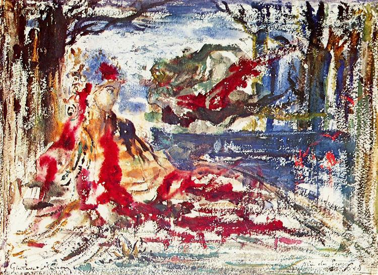 Near the Water, 1896 - Gustave Moreau
