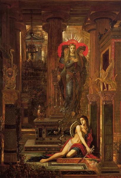 Orestes and the Erinyes, 1891 - Gustave Moreau