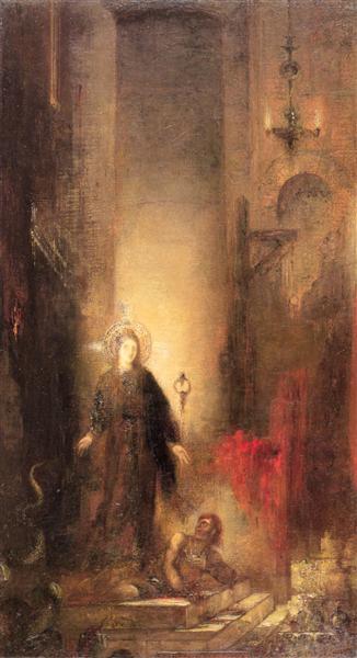 Saint Margaret, 1873 - Gustave Moreau