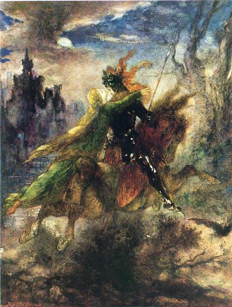 The Ballad, c.1885 - Gustave Moreau