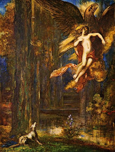 The Raising of Ganymede, 1886 - Gustave Moreau