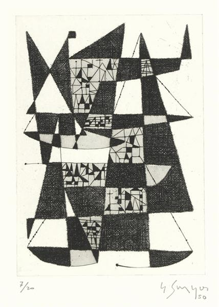 Without title, 1950 - Gustave Singier