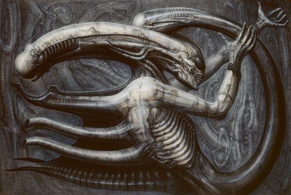 Necronom IV, 1976 - H.R. Giger