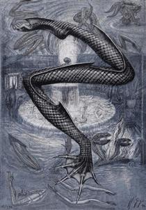 Pisces zinc - H.R. Giger