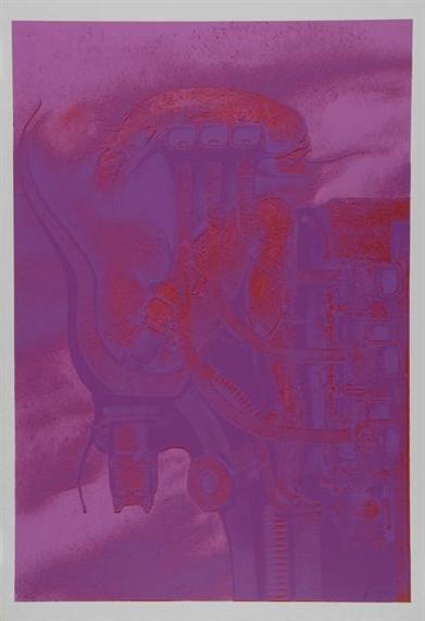 Trip-Tychon, 1970 - H.R. Giger