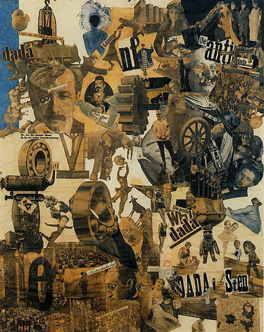 Cut with the Kitchen Knife through the Beer-Belly of the Weimar Republic, 1919 - Hannah Höch