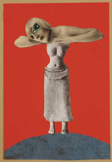 Untitled (From an Ethnographic Museum), 1930 - Hannah Hoch