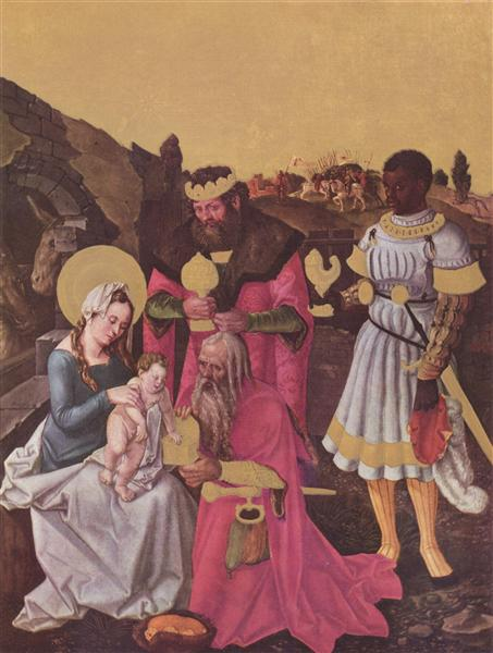 Adoration of the Magi, c.1510 - Hans Baldung
