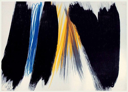 Untitled, 1973 - Hans Hartung