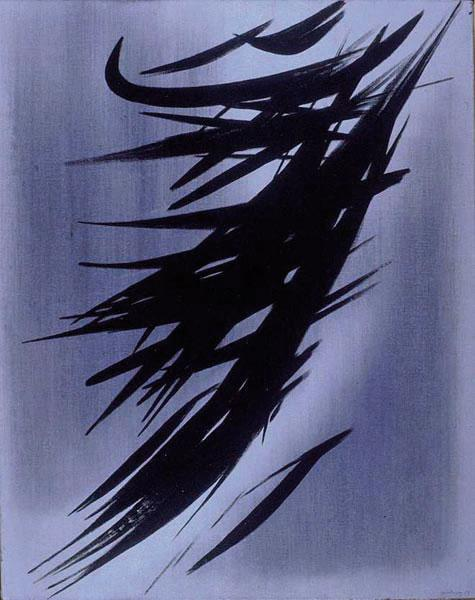 Untitled (T1958-3), 1958 - Hans Hartung