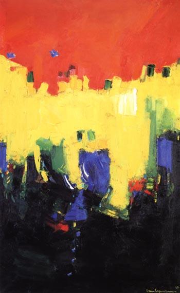 Above Deep Waters, 1959 - Hans Hofmann