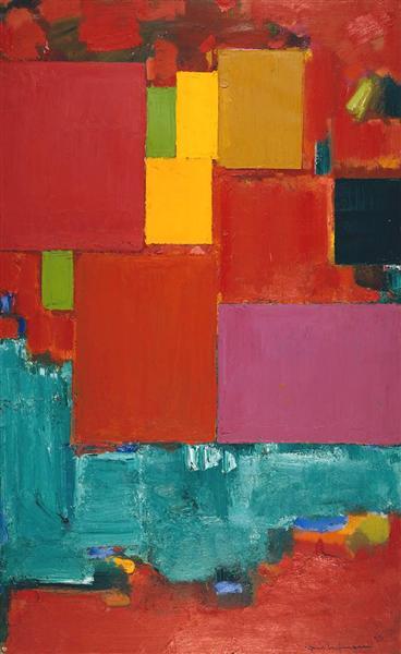 Pompeii, 1959 - Hans Hofmann