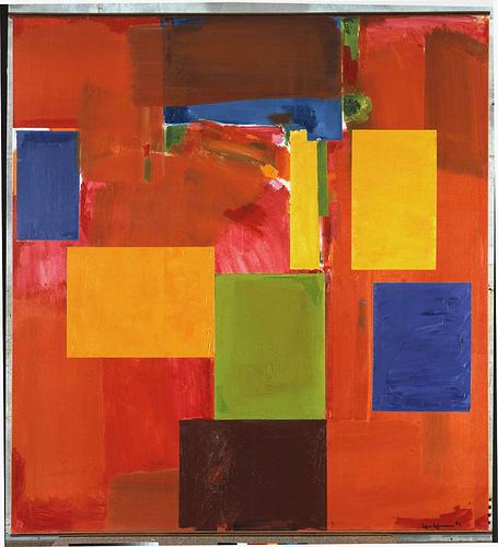 Sanctum Sanctorum, 1962 - Hans Hofmann