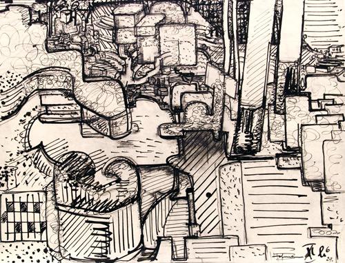 Untitled, c.1929 - Hans Hofmann