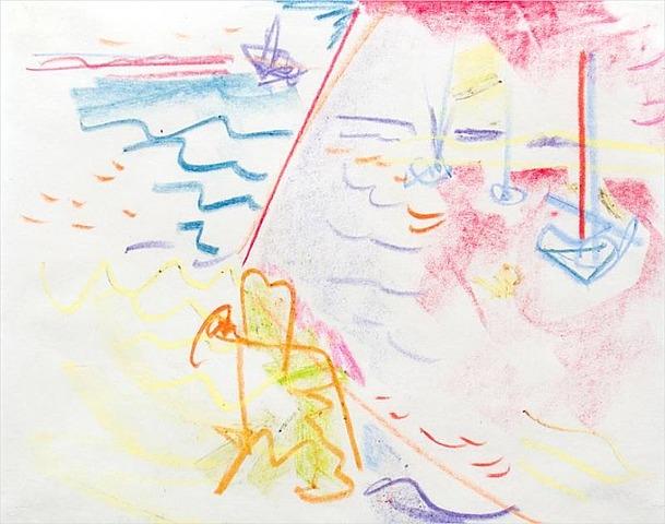 Untitled, 1941 - Hans Hofmann
