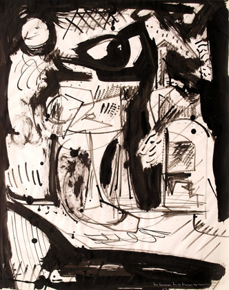 Untitled, 1943 - Hans Hofmann
