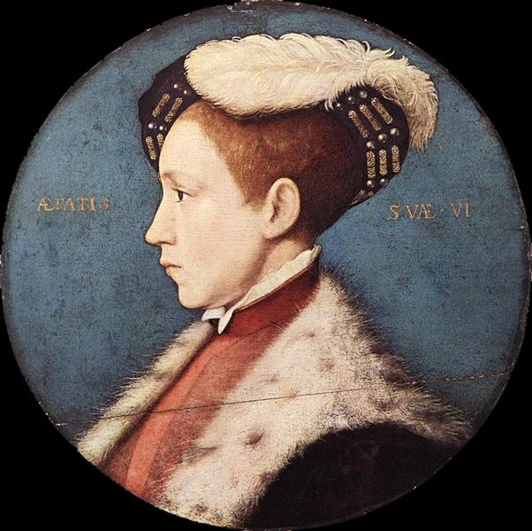 Edward, Prince of Wales, 1543 - Hans Holbein the Younger