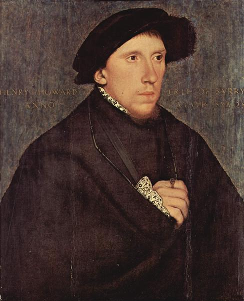 Henry Howard, Earl of Surrey, c.1542 - Hans Holbein the Younger