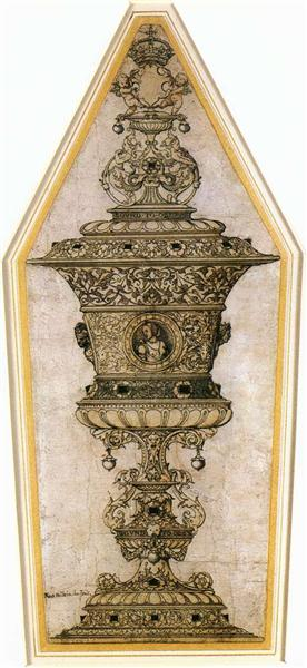 Jane Seymour's Cup, c.1536 - Hans Holbein, o Jovem