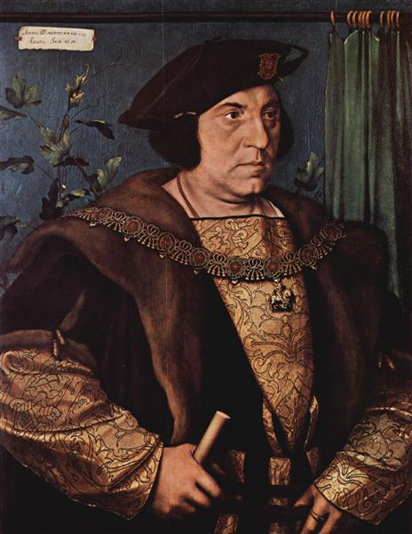 Portrait of Sir Henry Guildford, 1527 - Hans Holbein, o Jovem
