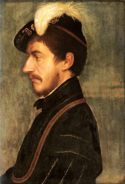 Portrait of Sir Nicholas Poyntz, 1535 - Hans Holbein the Younger