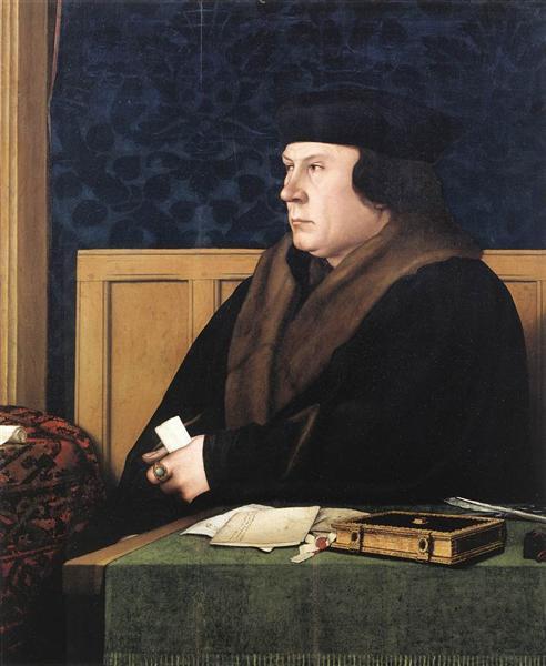 Portrait of Thomas Cromwell - Hans Holbein, o Jovem