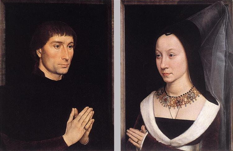 Tommaso Portinari and his Wife, c.1470 - Hans Memling